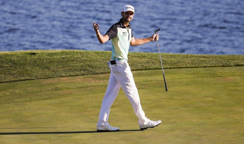 Troy Merrit có được danh hiệu PGA TOUR đầu tiên khi đăng quang giải Quicken Loans National 2015