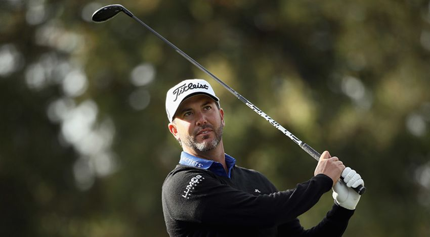 Scott Piercy made 12 birdies in his opening round of the season at Silverado. (Ezra Shaw/Getty Images)