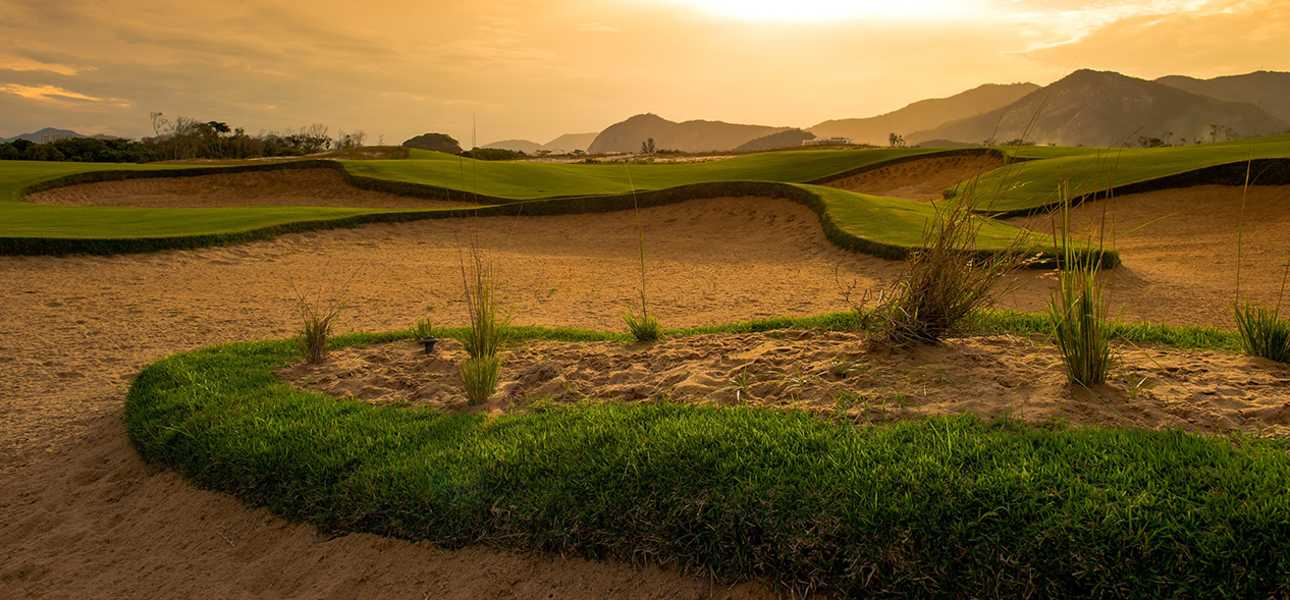 The rugged beauty of the Olympic Golf Course