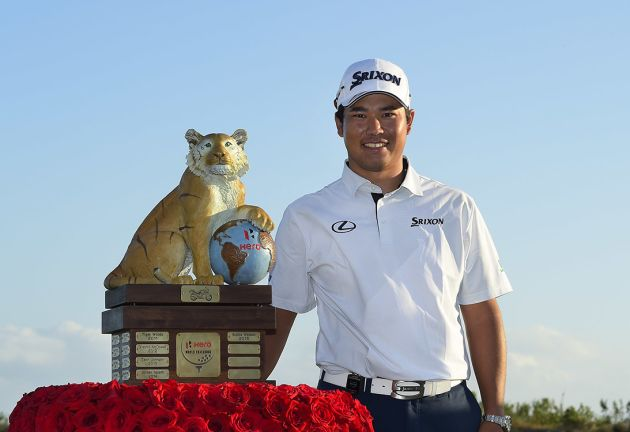 Matsuyama wins Hero World Challenge
