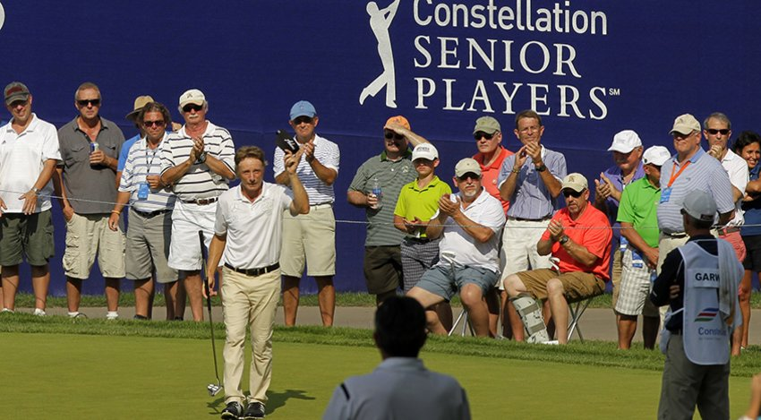 Bernhard Langer at last year's event