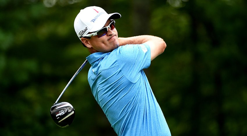 Zach Johnson, defending champion at the BMW