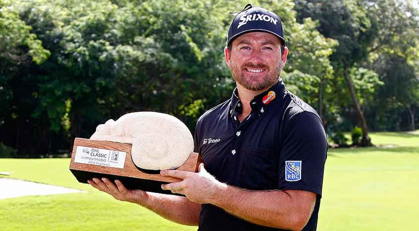 Graeme McDowell with OHL trophy