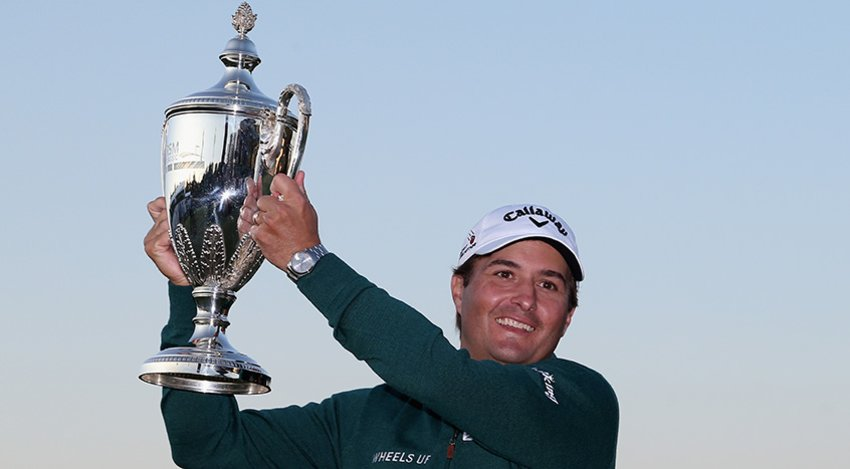 Kevin Kisner with RSM trophy