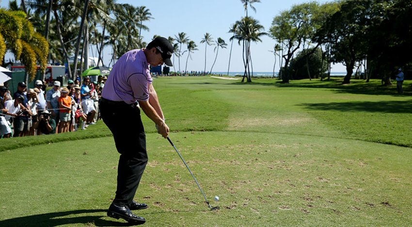 Jimmy Walker at Waialae Country Club last year