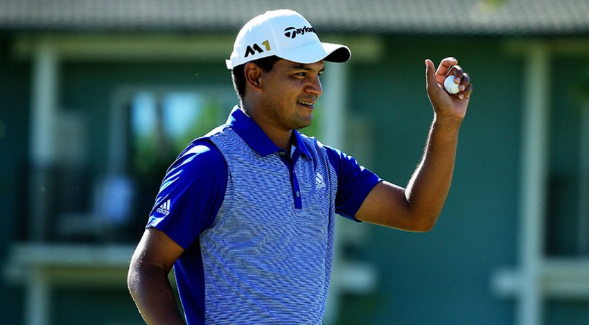 Fabian Gomez at the Sony Open